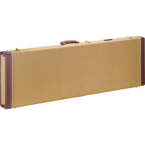 Case Contrabaixo Stagg Tweed Gcx Rb Gd - Gold