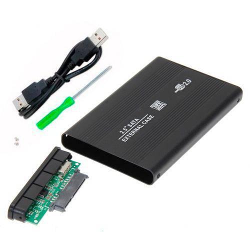"""Case de Gaveta USB 2.0 para HDD 2.5"""" SATA Slim Externo Blister CGHD-10"""