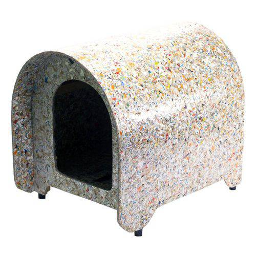 Casinha Cachorro Ecológica Iglu Cães Reciclada Nº2