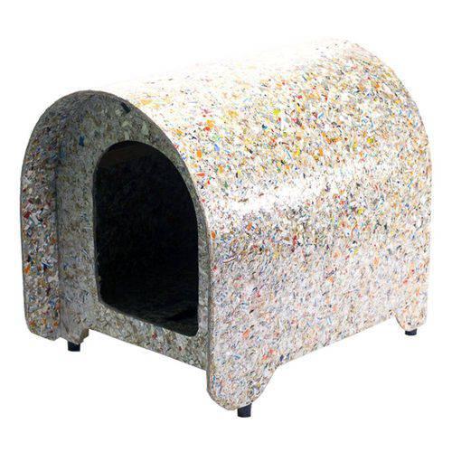 Casinha Cachorro Ecológica Iglu Cães Reciclada Nº1