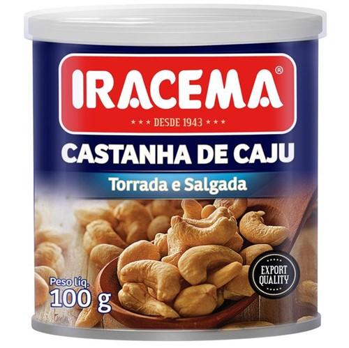 Castanha Caju Iracema 100g Lt