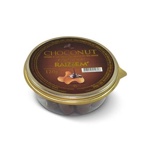 Castanha Caju Raiz Bem 120g Diet Coberto Chocolate