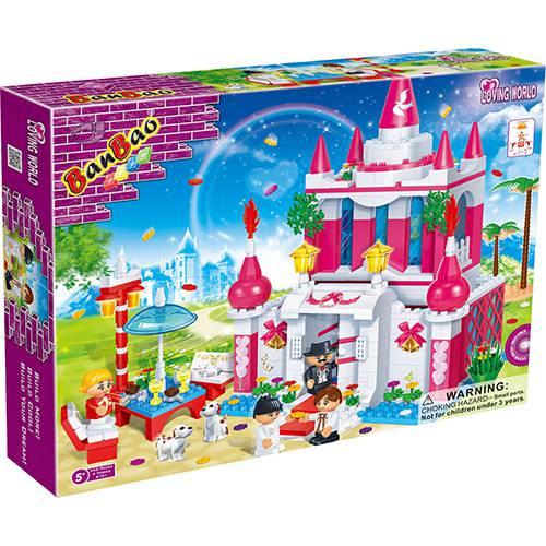 Castelo Encantado Mundo Encantado 552 Peças Banbao