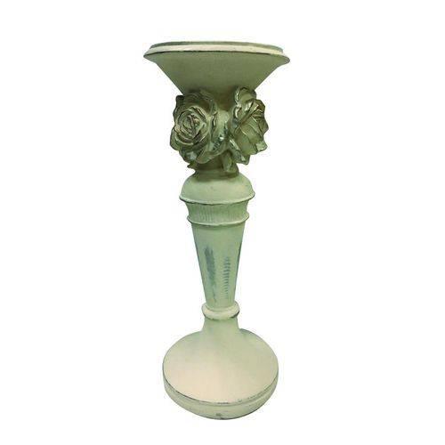 Castical de Flores 15 Cm Branco