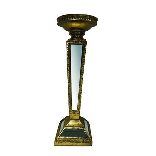 Castical Espelhado 28,8 Cm Champagne