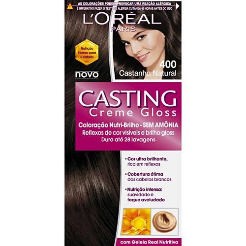Casting Creme Gloss 400 Castanho Natural - L'oreal