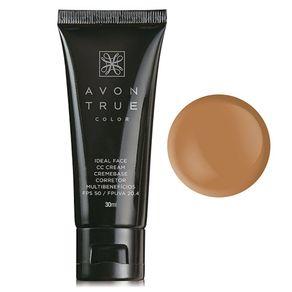CC Cream FPS 50 True Color 30ml - Escuro