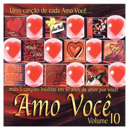 CD Amo Você Vol.10