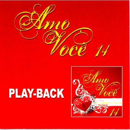 CD Amo Você Vol.14 (Play-Back)