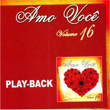 CD Amo Você Vol.16 (Play-Back)