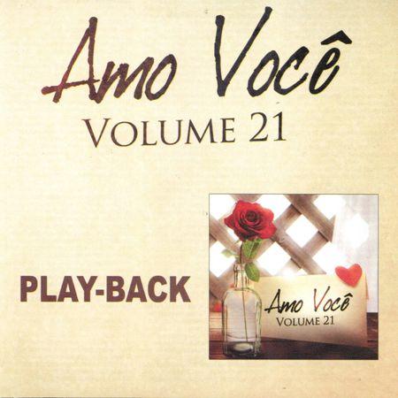 CD Amo Você Volume 21 (Play-Back)