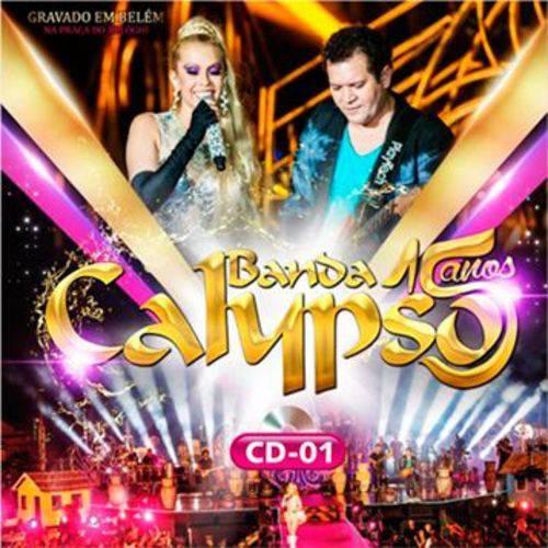 Cd Banda Calypso - 15 Anos ao Vivo - Vol.1
