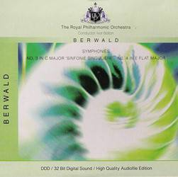 CD Berwald / The Royal Philharmonic Orchestra - Symphonies Nos. 3 & 4 (Importado)