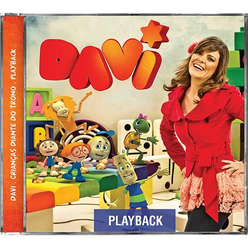 CD - Crianças Diante do Trono Davi - Playback