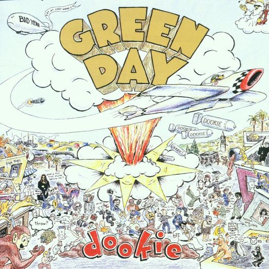 CD Green Day - Dookie - 1994