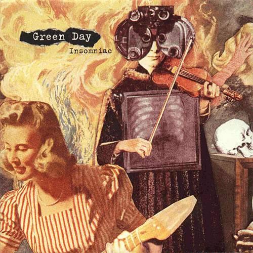 CD Green Day - Insomniac