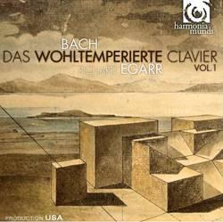 CD Johann Sebastian Bach - The Well-Tempered Clavier, Book I, BWV 846-869 (Importado)