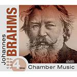 CD Johannes Brahms - Masterpieces Of Classical (4CDs) (Importado)
