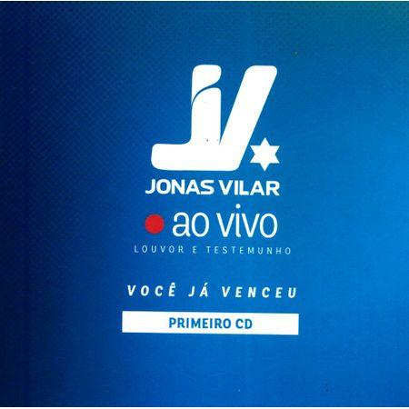 CD Jonas Vilar Você já Venceu ao Vivo