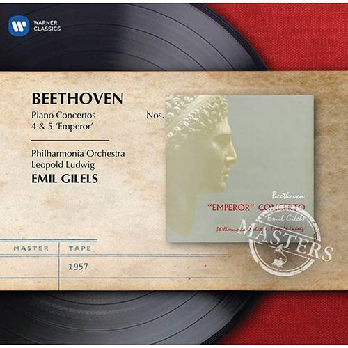 CD - Leopold Ludwig: Beethoven - Piano Concertos Nº 4 & 5