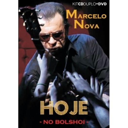 CD Marcelo Nova - Hoje no Bolshoi (2 CDs + DVD)