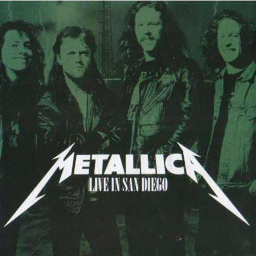 Cd Metallica Live In San Diego