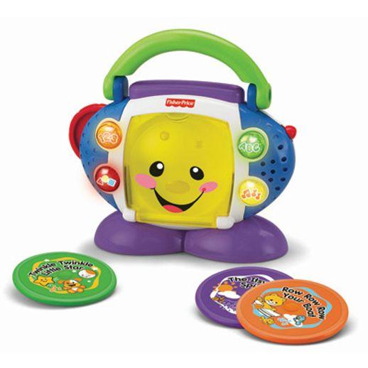CD Player Aprender e Brincar Fisher Price - Mattel