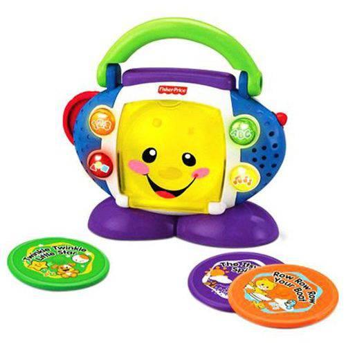 Cd Player Aprender e Brincar Fisher-price Mattel