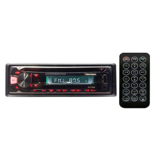 Cd Player Roadstar Rs3750 com Controle (Entrada Aux./USB/Cartão)