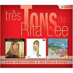 CD - Rita Lee - Coleção Tons para Amantes da Música e Colecionadores (3 Discos)