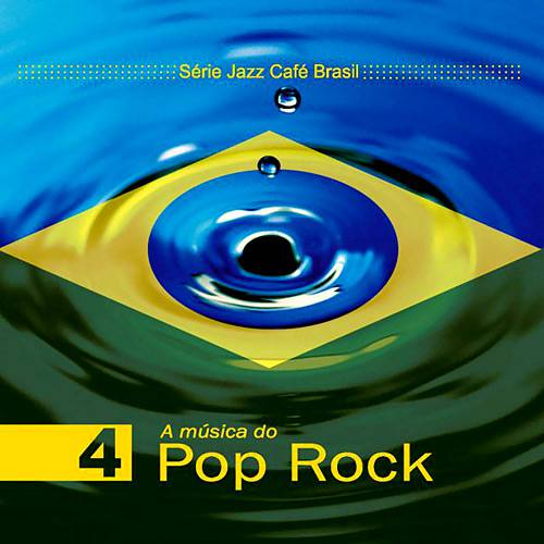 CD Série Jazz Café Brasil - a Música do Pop Rock