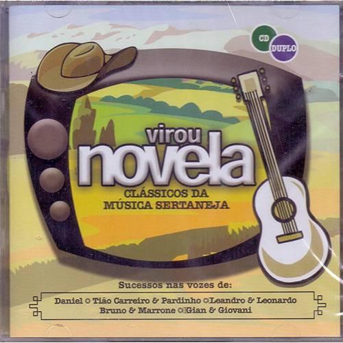 CD Vários - Virou Novela (Duplo)