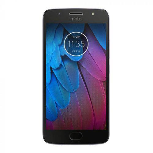 Celular Motorola Moto G5S XT1797 Dual - 32GB/3GB Cinza Lunar
