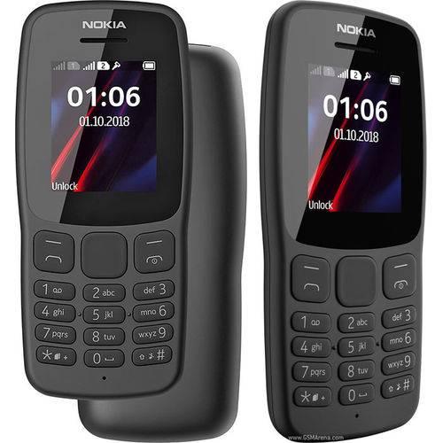 Celular Nokia 106 Dual Sim Tela de 1.8 '' Radio Fm