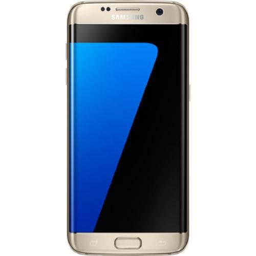 Celular Samsung Galaxy G935 S7 Edge 32gb Single - Sm-g935fzdpzto Dourada Quadriband