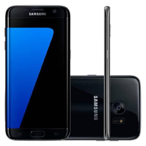 Celular Samsung Galaxy G935 S7 Edge 32gb Single - Sm-g935fzkpzto Preto Quadriband