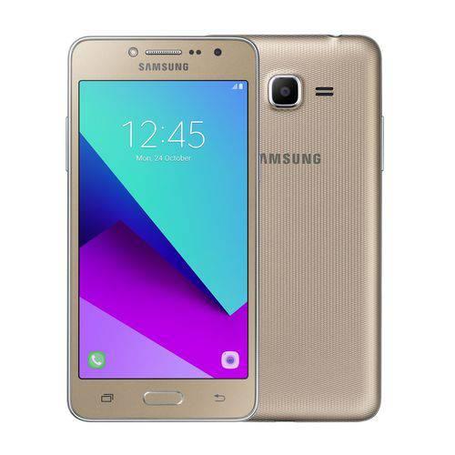 """Celular Samsung J2 Prime Tv Dourado - Tela 5"""", Android 6.0, Tv Digital, Memória Interna 8GB e Wi-Fi"""