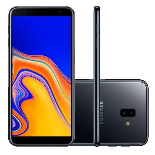 Celular Smartphone Dual Chip Samsung Galaxy J6 Plus Preto Preto
