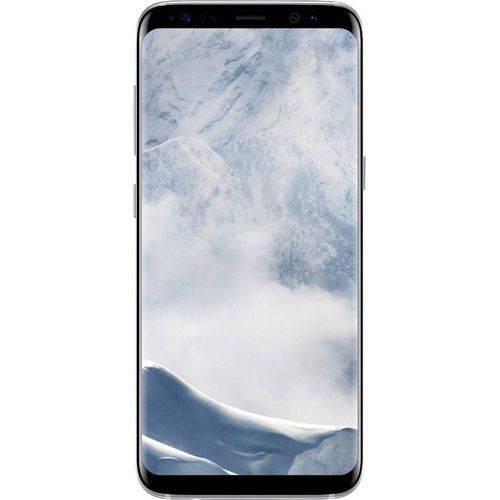 Celular Smartphone Samsung G950F Galaxy S 8 Prata Desb Tela 5.8 Camera 12MP Bluetooth Gps MP3 Bivolt