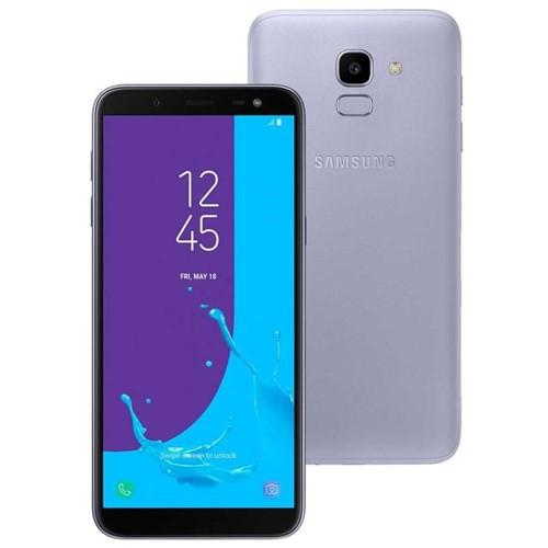 Celular Smartphone Samsung Galaxy J6 Dual Chip 6'' Prata Prata