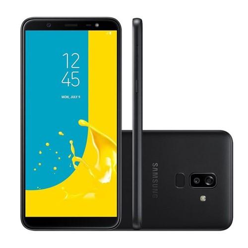 Celular Smartphone Samsung Galaxy J8 Dual Chip 6'' Preto Preto