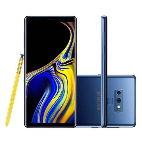 Celular Smartphone Samsung Galaxy Note 9 Azul Azul