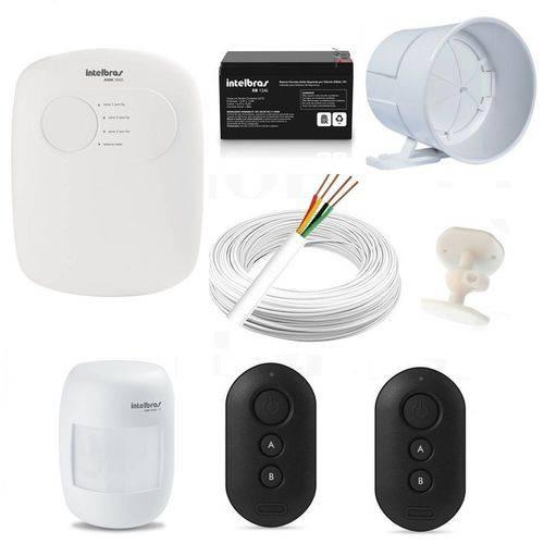 Central Alarme Anm 2003 Nao Monitorada + Acessórios Kit 2