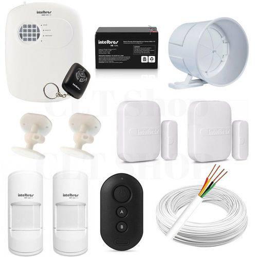 Central Alarme Anm 2004 Mf Nao Monitorada + Acessórios Kit 2