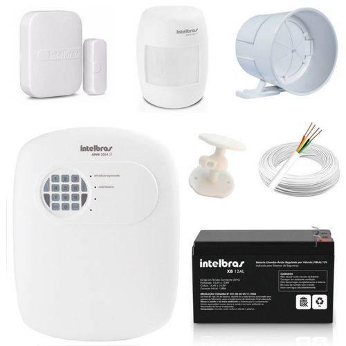Central Alarme Anm 3004 St Nao Monitorada + Acessórios Kit 4
