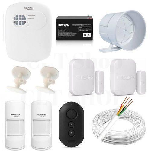 Central Alarme Anm 3008 St Nao Monitorada + Acessórios Kit 2