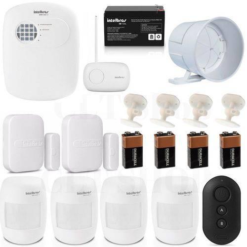 Central Alarme Anm 3008 St Nao Monitorada + Acessórios Kit 3