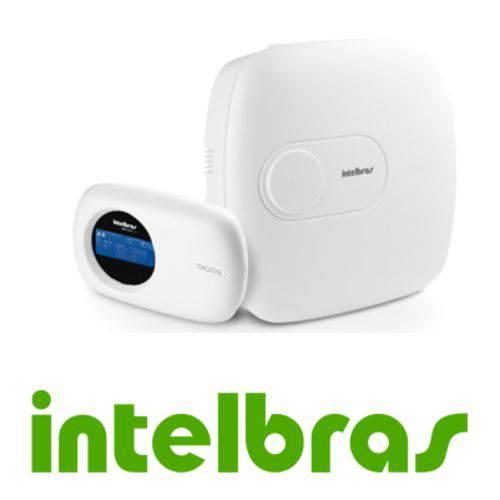 Central de Alarme Intelbras AMT 2110 Monitorada com 10 Zonas Via Linha Telefônica, 2 Partições, Disc