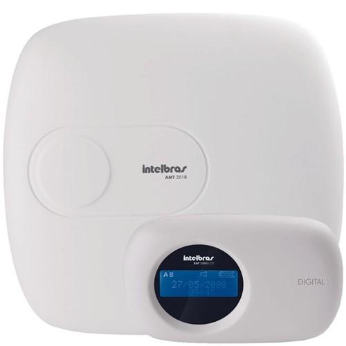 Central de Alarme Monitorada Inteligente para Até 18 Zonas AMT 2018 - Intelbras