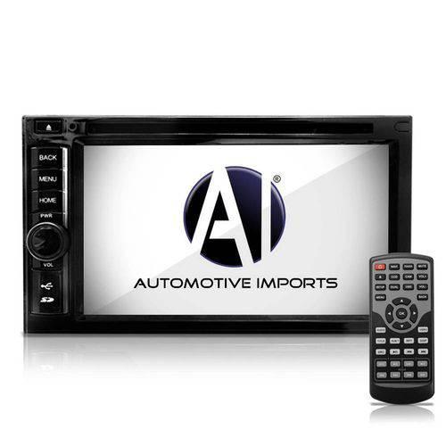 Central Multimidia Universal 6 Polegadas Touchscreen Gps Bluetooth Tv Usb Internet
